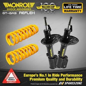 Front STD Monroe Shock Absorbers King Springs for FORD FAIRLANE AUII AUIII 8cyl
