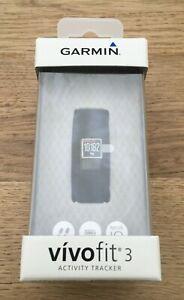 Garmin Vivofit 3 Activity Tracker Bracelet - Regular Fit, Black