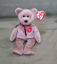 Ty Beanie Baby 1999 SIGNATURE BEAR w/Error GASPORT, MWMT RETIRED
