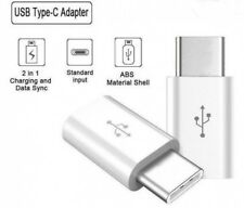 USB 3.1 USB-C Type C male to Micro USB female Data Adapter Converter WHITE NYPR