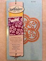 Spellbinders D-Lites Die ~ Medallion Nine (2 Templates) ~ S2-039 New