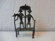 alte Bronze  , Bronzefigur  ,  Afrika   !