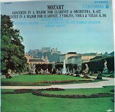 Mozart Clarinet Concerto in A Major/Quintet in A Major - Lancelot/Paillard (LP)