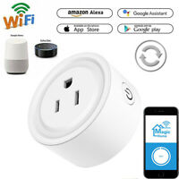 Smart US Plug WiFi Socket Outlet Remote Control Switch For Alexa Google Home GH