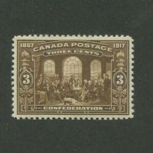 1917 Canada Postage Stamp #135 Mint Lightly Hinged VF Original Gum