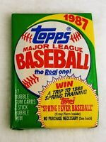 1987 Topps Baseball Wax Pack Unopened (17 cards/pack)