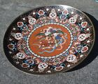 """Antique Cloisonne Large (18"""") Charger Plate 1905-1915 Very Detailed and Ornate"""
