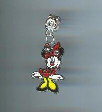 Disney, MINNIE MOUSE fits European & Charm Bracelets, Clip, Slide - E556