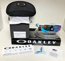 Oakley RADAR EV XS PATH SUNGLASSES POLISHED WHITE / SAPHIRE IRIDIUM OJ9001-0131