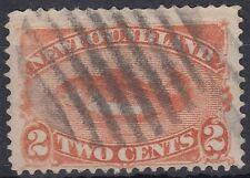 Newfoundland 1887 fine used Mi.37 Fische Fish [sq7522]