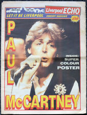 PAUL MCCARTNEY JUNE 1990 KINGS DOCK CONCERT LIVERPOOL ECHO SOUVENIR .THE BEATLES