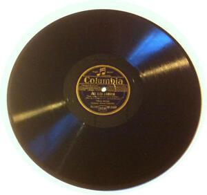 78T LP 78rpm TINO ROSSI Aux iles d'amour & El Danzon COLUMBIA