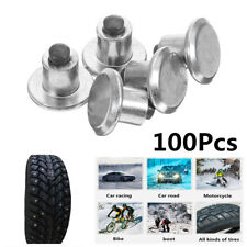 Universal Durable 100Pcs Car Motorcycle ATV Wheel Tyres Snow Chains Spikes Studs