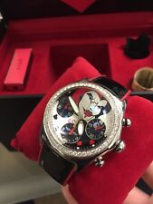 New CORUM diamond bezel automatic chronograph Bubble Joker Cards Limited 777