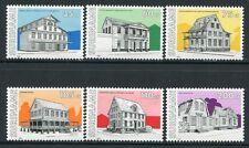 SURINAM 1991 Architektur Architecture Häuser 1365-1370 ** MNH
