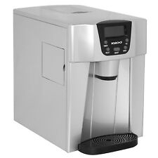 Igloo Countertop Ice Maker And  Fresh Water Dispenser -Ice 227 Silver