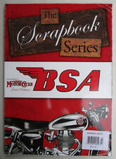 BSA MOTORCYCLE SCRAP BOOK SERIES VINTAGE CLASSIC PHOTO ARCHIVE GOLD STAR M20 A65