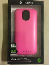Mophie Juice Pack for Samsung Galaxy S4 Pink NEW