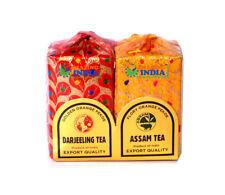 100% Pure Darjeeling / Assam Tea A Gift Pack of Organic Indian Tea