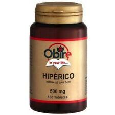 Hiperico 375mg 300 tabletas Obire hierba de San Juan depresion fatiga