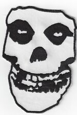 LARGER MISFITS SKULL  IRONON PATCH BUY 2 GET 1 FREE = 3 OF THESE