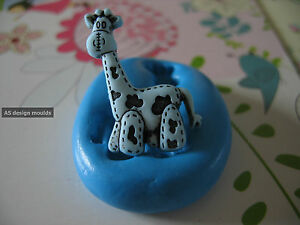 Baby Giraffe Shower Cake Toppers Silicone Mould/Mold Sugarcraft,  Cupcakes