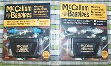 McCallum TAPPI X PER LE ORECCHIE BATTERISTI ZAMPOGNARI Cornamuse delle Highlands