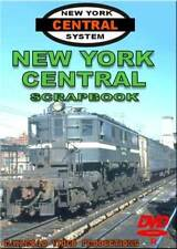 New York Central Scrapbook DVD NEW NYCS 1930s to 1969 Railroad Train Video