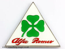 Émail Chrome Alfa Romeo Cloverleaf Corse Voiture Badge