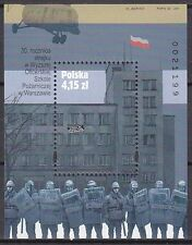 POLAND 2011 **MNH SC# S/S - Strike in the Higher Military School of Fire Service