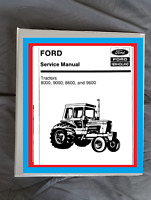 Ford tw-10 tw-20 tw-30 Tractor SERVICE Manual Workshop Binder