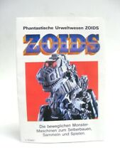 Zoids Zoid Vintage OER Deutch Catalog advertissing ZOIDS / 4 pages !!!!