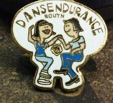 DANSENDURANCE ROUYN  Lions Club pin badge