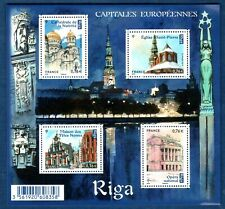 France La Feuille F4938 Riga Capitales Européennes  2014 Neuf Luxe