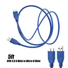 USB 3.0 Cable Lead Cord For Transcend StoreJet 25H3P 1TB 1000GB 750GB 500GB HDD