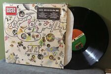 "Led Zeppelin ""III"" LP NM SD 19128 In Shrink Robert Plant Jimmy Page"