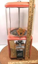 VINTAGE NORTHWESTERN 5 CENT GUMBALL CANDY TOY VENDING MACHINE ACORN ALL PURPOSE