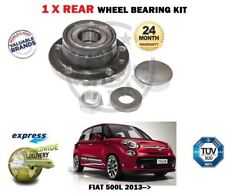 FOR FIAT 500L 0.9 1.4 1.3D 1.6D 2013->NEW 1 X REAR  WHEEL BEARING KIT COMPLETE