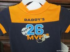 NWT/OKIE DOKIE Infant Boys 3 -6 Mos/DADDYS MVP/BASEBALL/Outfit/MONKEY/Cute!