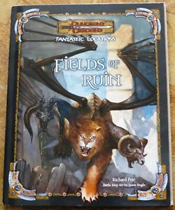 Fantastic Locations FIELDS OF RUIN Dungeons & Dragons - New (not sealed)