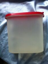 Tupperware Eidgenosse 1,7 l müslidose A 63 Trockenvorratsbox rot vorratsdose