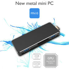 Windows 10 Mini PC Stick 3GB Rom 64GB Intel Quad Core N3350 Desktop Computer