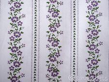 Dirndl ♥ Baumwollsatin weiß  grün lila Baumwolle Trachten Stoff Schürzenstoff