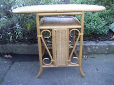 Cane Wicker Oval Dining Breakfast Conservatory Table