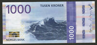 Norway 1000 Kroner 2019 UNC NEW