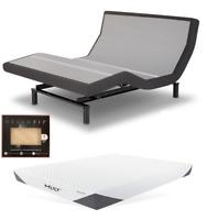 Leggett & Platt Prodigy 2.0 Adjustable Bed w/ Choice of MLily Cool Gel Mattress