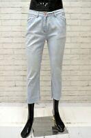 Bermuda CONTE OF FLORENCE Uomo Taglia 46 Pantalone Shorts Jeans Pants Cotone Blu