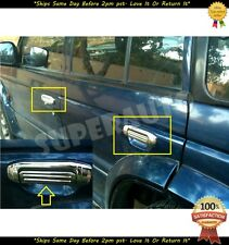 For 1992-1999 Mitsubishi Montero / Pajero Chrome Door Handle Covers 93 94 95 96