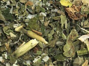 Raspberry & Marshmallow Leaf 75g ORGANIC  Herbal herb Infusion Tea Smoking