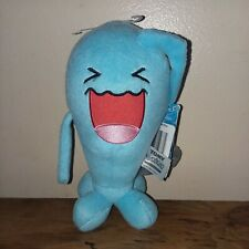 "Wobbuffet Pokemon Tomy Plush Blue 8""  Nintendo Monster Game 2016 Laughing"